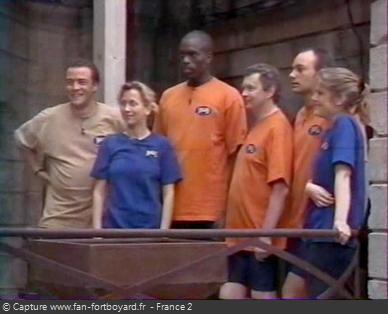 Fort Boyard 1999 - Équipe 3 - Pascal Brunner (10/07/1999)