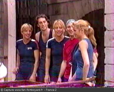 Fort Boyard 1999 - Équipe 5 - Fabienne Thibeault (24/07/1999)