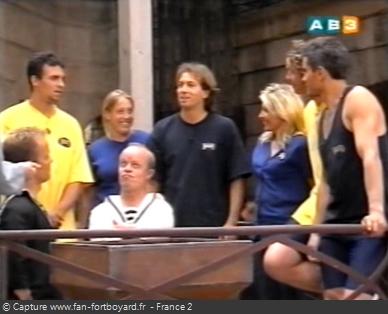 Fort Boyard 1999 - Équipe 7 - Benoît Cauet (07/08/1999)