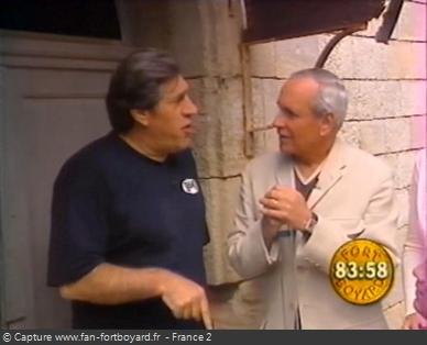 Fort Boyard 1999 - Sans le savoir, Jean-Pierre Castaldi est candidat un an avant de devenir animateur du jeu