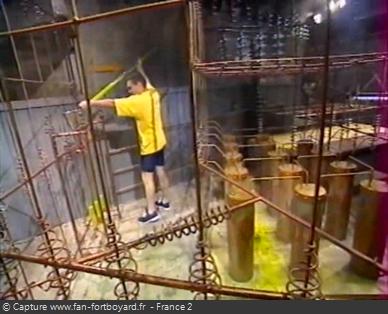 Fort Boyard 1999 : La nouvelle épreuve du Porteur d'eau