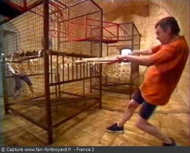 Fort Boyard 1999 : La nouvelle épreuve des Draps