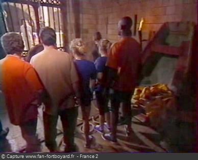 Fort Boyard 1999 : L'ouverture de la porte du Fort