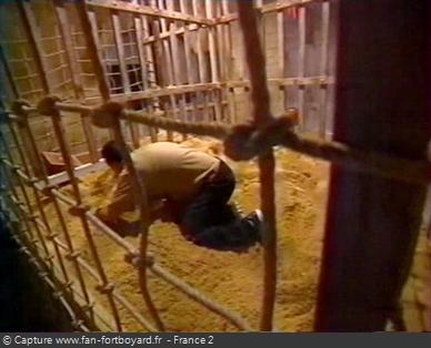 Fort Boyard 1999 : La nouvelle épreuve de la Taupe