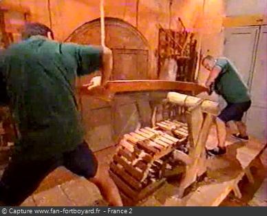 Fort Boyard 1999 : La nouvelle épreuve de la Scie