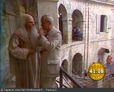 Fort Boyard 1999 : Le Père Fouras va régulièrement voir Patrice
