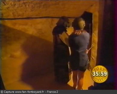 Fort Boyard 1999 : Entrée du labyrinthe d'accès au Conseil