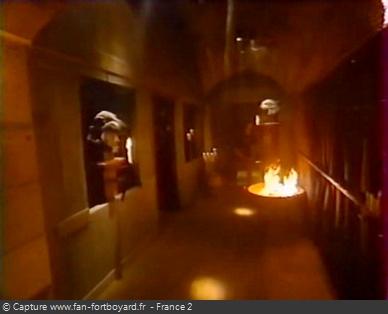 Fort Boyard 1999 : Couloir intérieur d'accès au Conseil