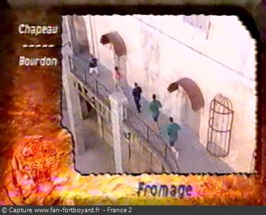 Fort Boyard 1999 : Exemple d'habillage à partir de 1999