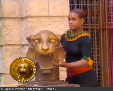 Fort Boyard 1999 : Félindra est de retour avec une nouvelle tenue