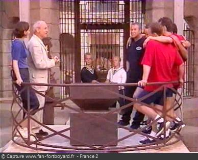Fort Boyard 1999 : La pesée
