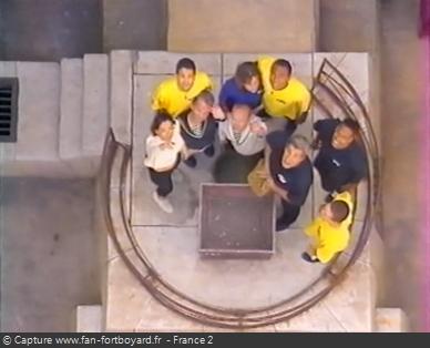 Fort Boyard 1999 : Fin de l'émission