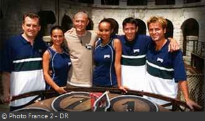 Fort Boyard 2000 - Équipe 3 - Frank Lebœuf (08/07/2000)
