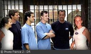 Fort Boyard 2000 - Équipe 7 - Peggy Bouchet (12/08/2000)