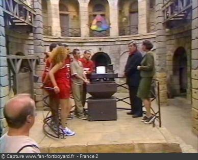 Fort Boyard 2000 : La pesée