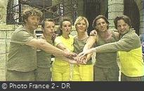 Fort Boyard 2001 - Équipe 8 - Arnaud Poivre d'Arvor (11/08/2001)