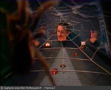 Fort Boyard 2001 : La nouvelle épreuve du Mange-fil