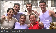 Fort Boyard 2002 - Équipe 8 - Carole Montillet (17/08/2002)