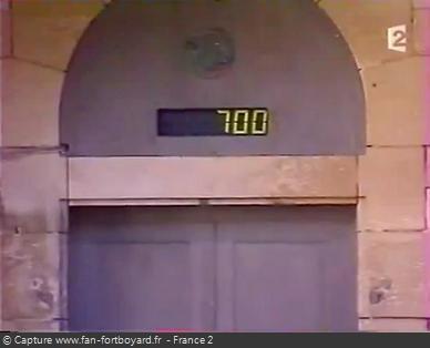 Fort Boyard 2002 - Le petit gain de l'histoire du gain affiché sur le compteur