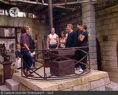 Fort Boyard 2002 : La pesée