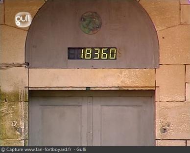 Fort Boyard 2002 : Le compteur de Boyards pour la 1ère fois en Euro