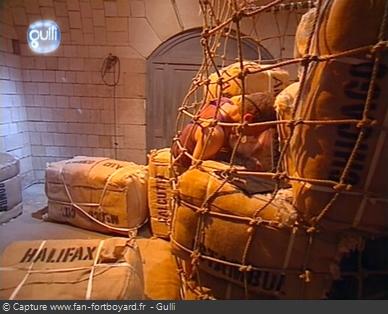 Fort Boyard 2003 : La nouvelle épreuve des Balles de coton