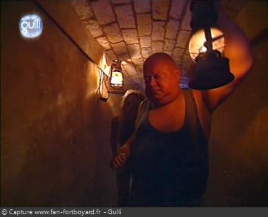Fort Boyard 2003 : Désormais les oubliés rejoignent la prison, et auront une chance d'être libérer ultérieurement
