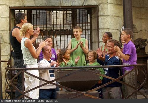Fort Boyard 2004 - La saison est marquée par l'équipe spéciale des Enfants, le 31 juillet