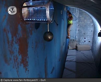 Fort Boyard 2005 : La nouvelle épreuve de la Double-corniche