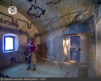Fort Boyard 2005 : La nouvelle épreuve du Lustre