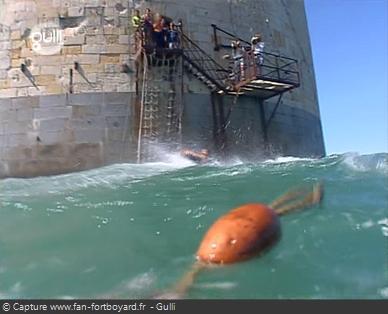 Fort Boyard 2005 : Le retour occasionnel de la séquence de Clé à la mer