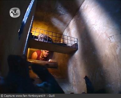 Fort Boyard 2005 : Le début du parcours de sortie des prisonniers