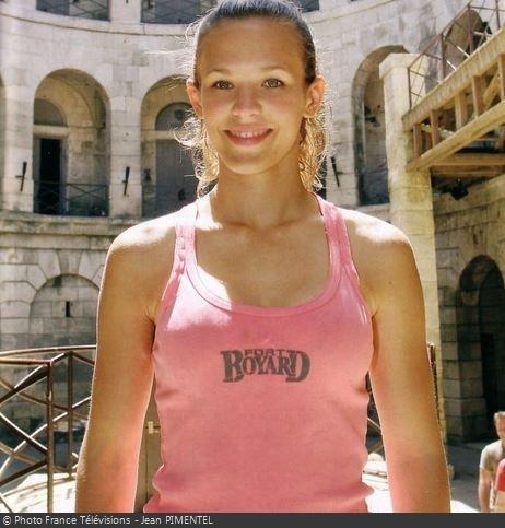 Fort Boyard 2006 - La chanteuse Lorie en 2005