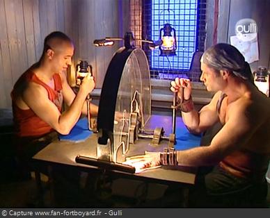 Fort Boyard 2006 : Le retour de l'épreuve du Bras de fer dans une nouvelle version