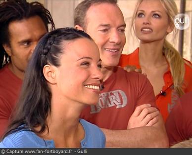 Fort Boyard 2006 : Anne-Gaëlle Riccio remplace Sarah Lelouch à la présentation