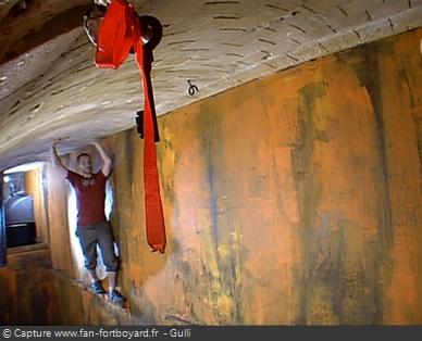 Fort Boyard 2006 : Le retour de l'épreuve de la Corniche