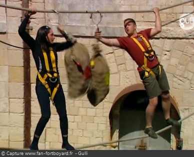 Fort Boyard 2006 : Le Pont de singe devient un duel face à la Gymnaste