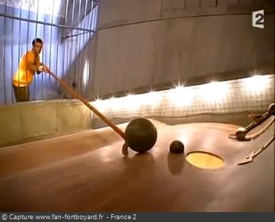 Fort Boyard 2006 : La nouvelle épreuve de Sisyphe (à prisonnier)
