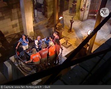 Fort Boyard 2006 : Après la pesée, Anne-Gaëlle Riccio revient sur les temps forts de l'émission