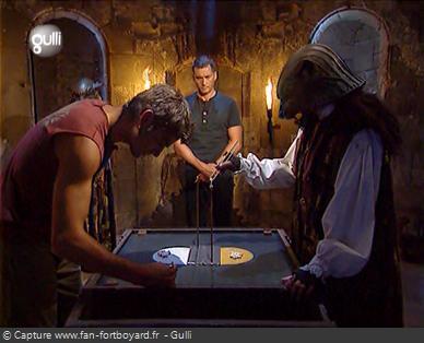 Fort Boyard 2007 - Le nouveau duel des Baguettes n'est pas toujours évident