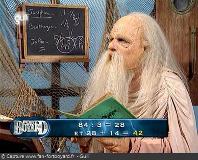 Fort Boyard 2007 - Le Père Fouras devient professeur de math lors des aventures