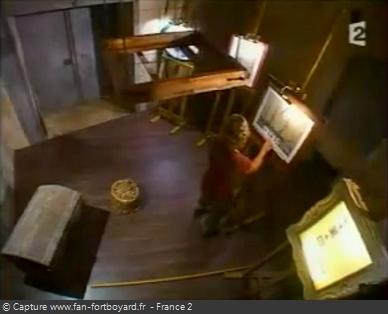 Fort Boyard 2007 : La nouvelle épreuve des Tableaux