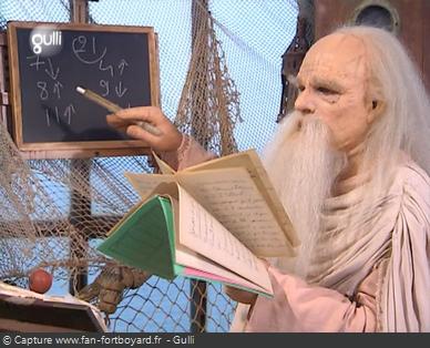 Fort Boyard 2007 : L'énigme mathématiques du Père Fouras lors des aventures