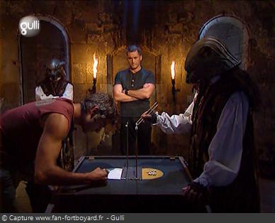 Fort Boyard 2007 : Le nouveau duel du Conseil des Baguettes