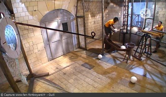 Fort Boyard 2008 : La nouvelle épreuve de la Cible