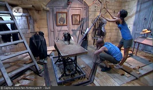 Fort Boyard 2008 : La nouvelle épreuve des Mannequins