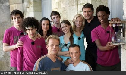 Fort Boyard 2009 - Équipe 8 - Acteurs du film LOL (15/08/2009)