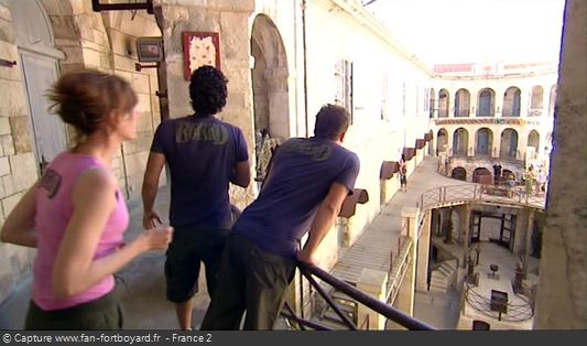 Fort Boyard 2009 : La seconde plaquette change de lieu selon les émissions