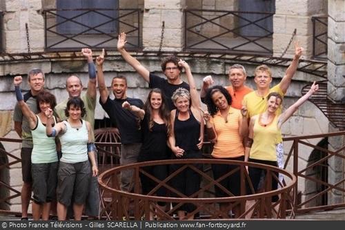 Fort Boyard 2010 - Les trois équipes finalistes (21/08/2010)