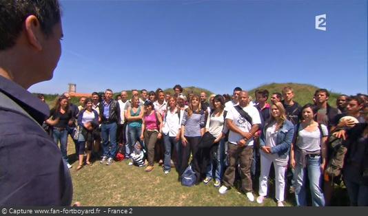 Fort Boyard 2010 - Les candidats de la saison à leur arrivée sur l'Île d'Aix